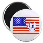 ILY Flag Magnet