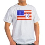 ILY Flag Light T-Shirt