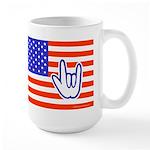 ILY Flag Large Mug