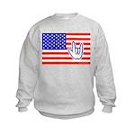 ILY Flag Kids Sweatshirt