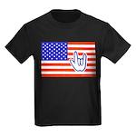 ILY Flag Kids Dark T-Shirt