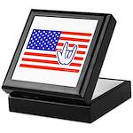 ILY Flag Keepsake Box