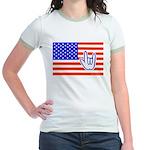 ILY Flag Jr. Ringer T-Shirt