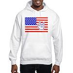 ILY Flag Hooded Sweatshirt
