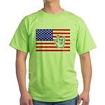 ILY Flag Green T-Shirt