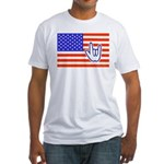 ILY Flag Fitted T-Shirt