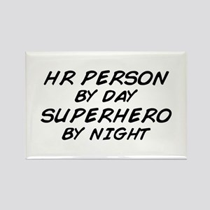 HR Superhero by Night Rectangle Magnet