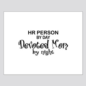 HR Devoted Mom Small Poster