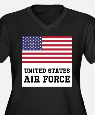 United States Air Force Plus Size T-Shirt