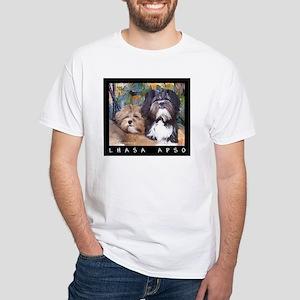 Free Spirit Puppies White T-Shirt