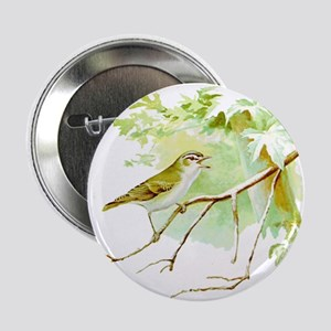 "Red Eyed Vireo 2.25"" Button"