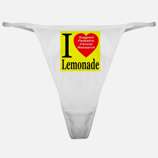Support Pediatric Cancer Research Classic Thong
