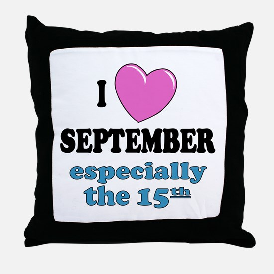 PH 9/15 Throw Pillow