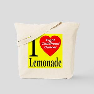 Fight Childhood Cancer Tote Bag