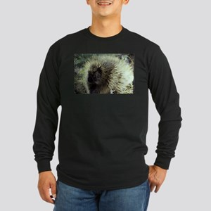 Porcupine Photo Long Sleeve Dark T-Shirt