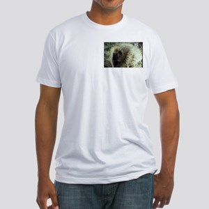 Porcupine Photo Fitted T-Shirt