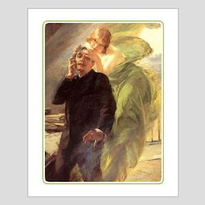 Albert Maignan - Green Muse Small Poster
