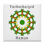 Turbocharged Human Tile Coaster