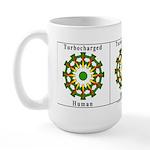Turbocharged Human Large Mug