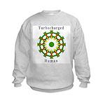 Turbocharged Human Kids Sweatshirt