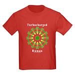 Turbocharged Human Kids Dark T-Shirt