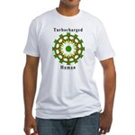 Turbocharged Human Fitted T-Shirt