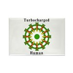 Turbocharged Human Rectangle Magnet (100 pack)