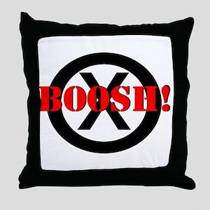 Frisky Dingo- BOOSH! Throw Pillow