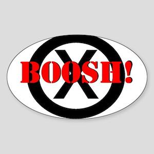 Frisky Dingo- BOOSH! Oval Sticker
