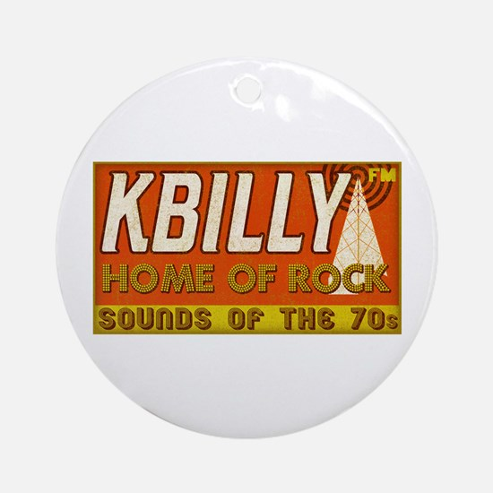 KBILLY Rock Ornament (Round)