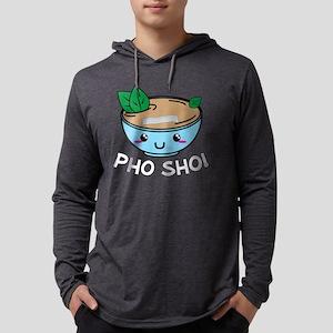 pho show! fo show pho pun Long Sleeve T-Shirt