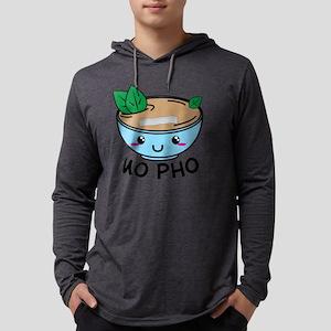 mo pho - funny pho pun stateme Long Sleeve T-Shirt