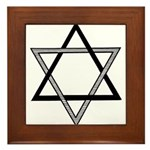 Solomon's Seal Framed Tile