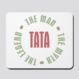 Tata Czech Dad Man Myth Legend Mousepad