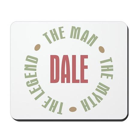 Dale Man Myth Legend Mousepad
