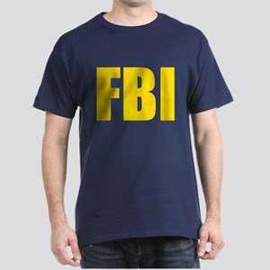 FBI Yellow Dark T-Shirt
