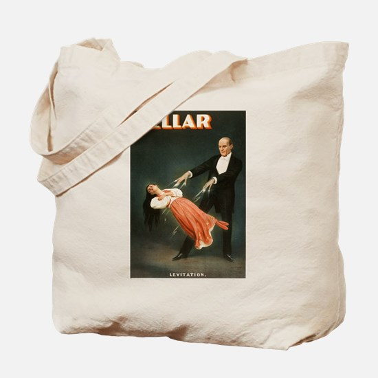 Kellar Magician - Levitation Tote Bag