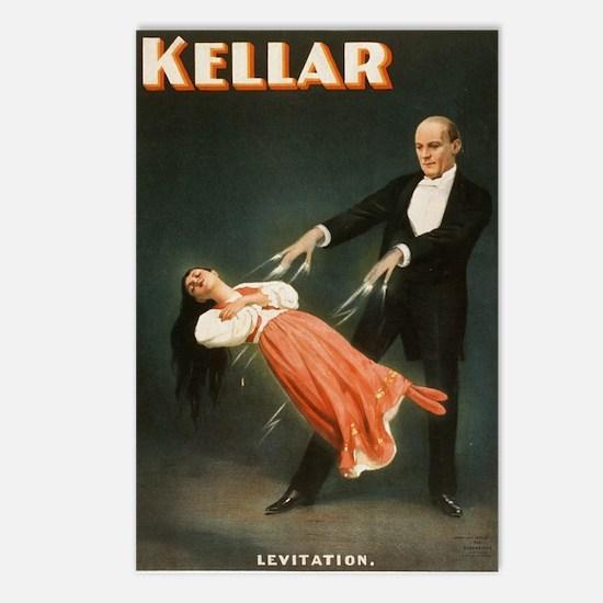 Kellar Magician - Levitation Postcards (Package of