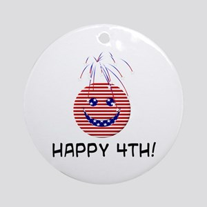 July 4th! Ornament (Round)