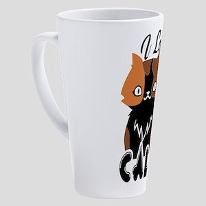 Calico Cat 17 oz Latte Mug