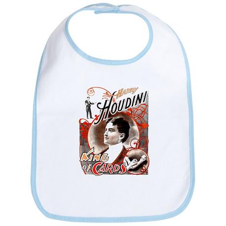 Harry Houdini King of Cards Bib