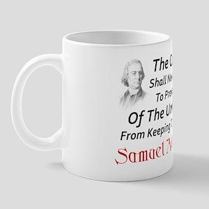 """Samuel Adams: Keep Your Arms"" Mug"