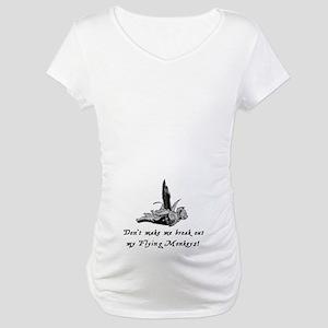 My Flying Monkeys Maternity T-Shirt