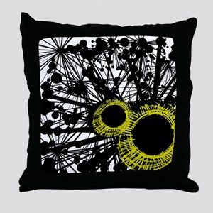 Splash of Color Throw Pillow