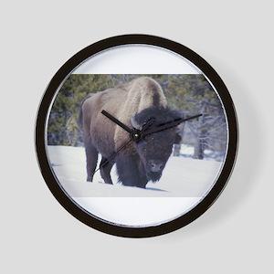 Bison Photo Wall Clock