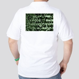 CAMOUFLAGED STARS & STRIPES Golf Shirt