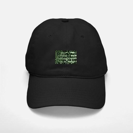 CAMOUFLAGED STARS & STRIPES Baseball Hat