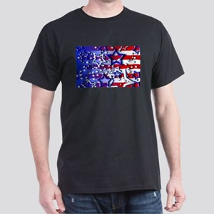 STARS & STRIPES Dark T-Shirt