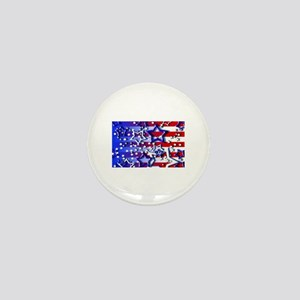 STARS & STRIPES Mini Button