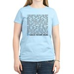 All Presidents up to Obama Women's Light T-Shirt
